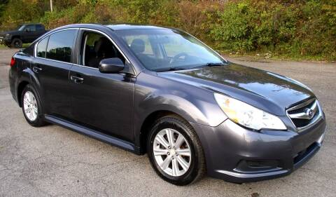 2010 Subaru Legacy for sale at Angelo's Auto Sales in Lowellville OH