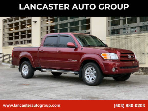 2004 Toyota Tundra for sale at LANCASTER AUTO GROUP in Portland OR