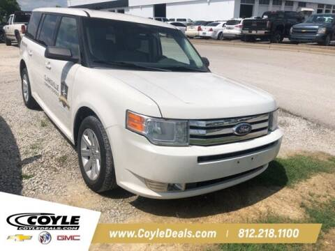 2011 Ford Flex for sale at COYLE GM - COYLE NISSAN - New Inventory in Clarksville IN