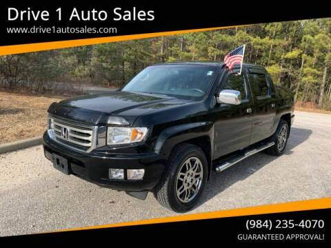 2013 Honda Ridgeline for sale at Drive 1 Auto Sales in Wake Forest NC