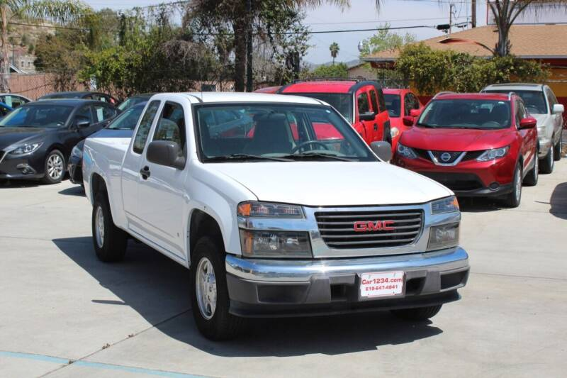 2007 GMC Canyon for sale at Car 1234 inc in El Cajon CA