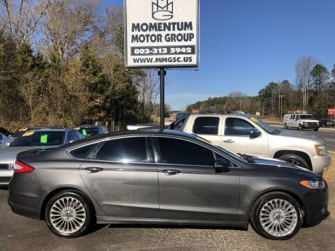 2016 Ford Fusion for sale at Momentum Motor Group in Lancaster SC