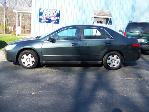 2005 Honda Accord for sale at Keiter Kars in Trafford PA