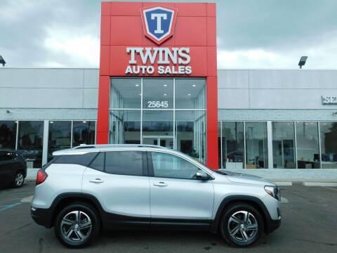 2021 GMC Terrain for sale at Twins Auto Sales Inc Redford 1 in Redford MI