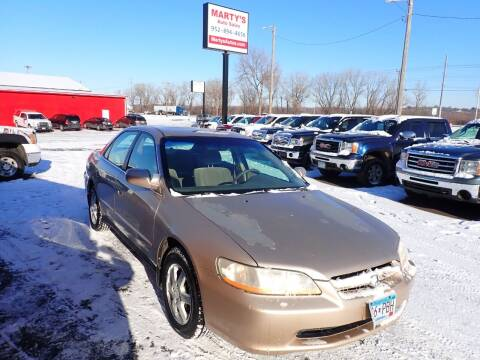 2000 Honda Accord for sale at Marty's Auto Sales in Savage MN