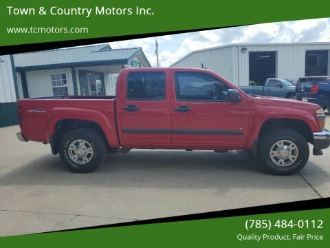 2008 GMC Canyon for sale at Town & Country Motors Inc. in Meriden KS
