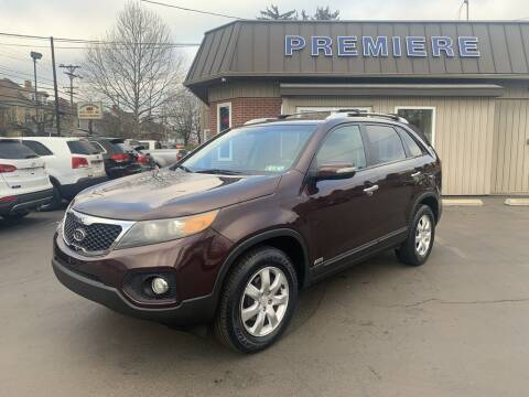 2011 Kia Sorento for sale at Premiere Auto Sales in Washington PA