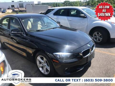 2015 BMW 3 Series for sale at Auto Brokers Unlimited in Derry NH
