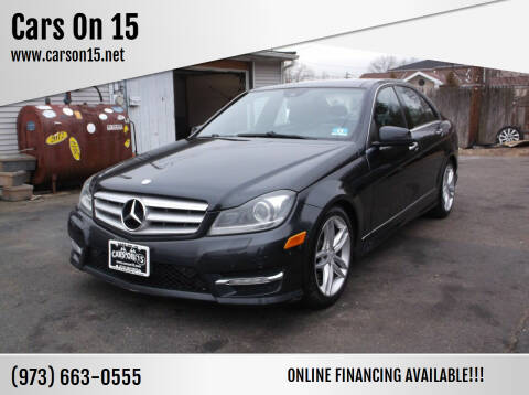 2012 Mercedes-Benz C-Class for sale at Cars On 15 in Lake Hopatcong NJ