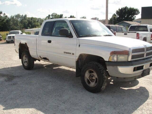 2001 Dodge Ram Pickup 1500 for sale at Frieling Auto Sales in Manhattan KS