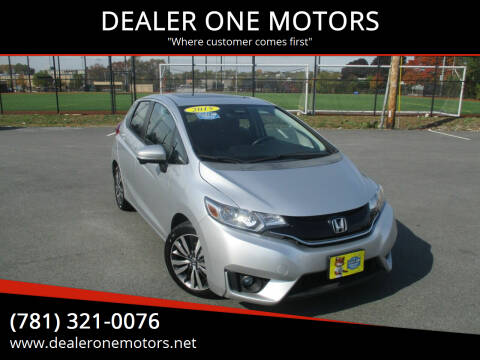 2015 Honda Fit for sale at DEALER ONE MOTORS in Malden MA