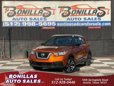 2019 Nissan Kicks for sale at Bonillas Auto Sales in Austin TX