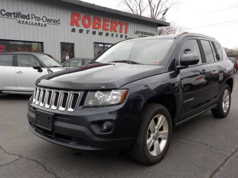 2014 Jeep Compass for sale at Roberti Automotive in Kingston NY