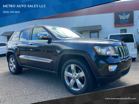 2013 Jeep Grand Cherokee for sale at METRO AUTO SALES LLC in Blaine MN