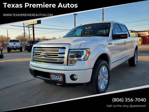 2013 Ford F-150 for sale at Texas Premiere Autos in Amarillo TX
