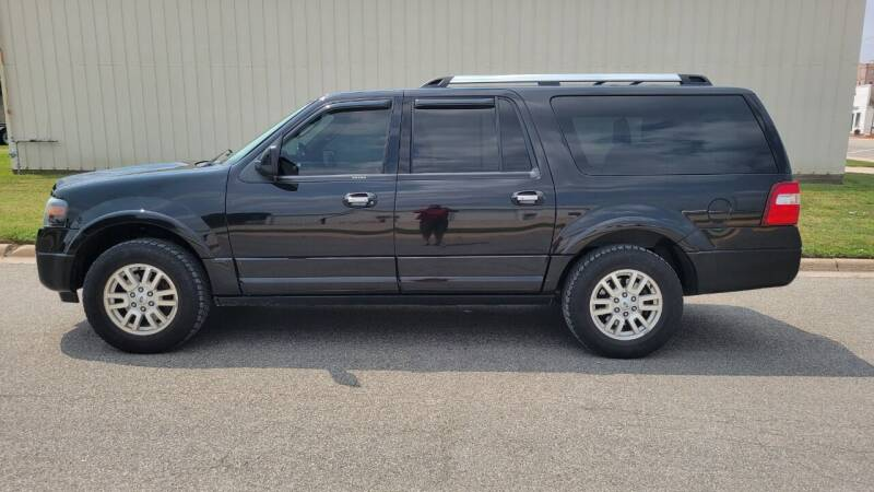 2014 Ford Expedition EL for sale at TNK Autos in Inman KS