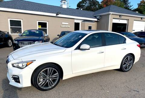 2014 Infiniti Q50 for sale at Ultra Auto Center in North Attleboro MA
