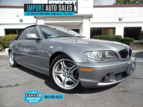 2006 BMW 3 Series for sale at IMPORT AUTO SALES in Knoxville TN