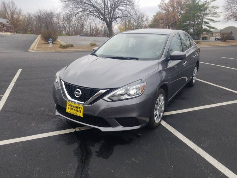 2017 Nissan Sentra for sale at Community Auto Sales & Service in Fayette MO