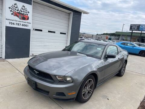 2010 Ford Mustang for sale at NATIONAL CAR AND TRUCK SALES LLC - National Car and Truck Sales in Concord NC