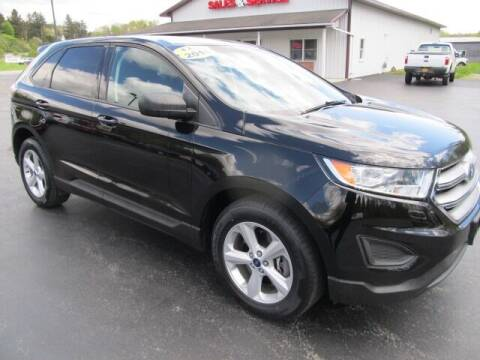 2018 Ford Edge for sale at Thompson Motors LLC in Attica NY