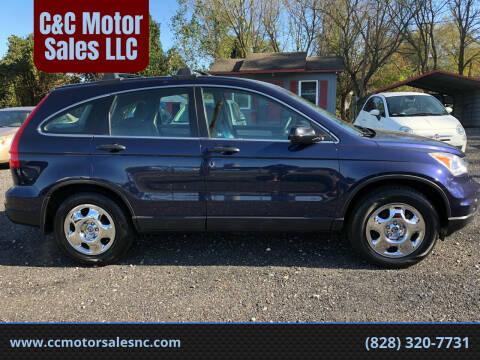 2011 Honda CR-V for sale at C&C Motor Sales LLC in Hudson NC