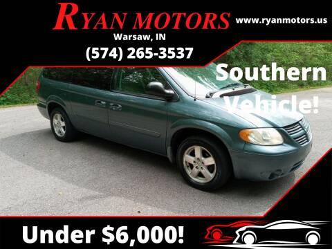2006 Dodge Grand Caravan for sale at Ryan Motors LLC in Warsaw IN