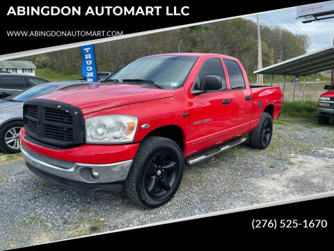 2007 Dodge Ram Pickup 1500 for sale at ABINGDON AUTOMART LLC in Abingdon VA