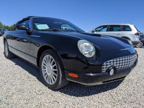 2005 Ford Thunderbird for sale at BERKENKOTTER MOTORS in Brighton CO