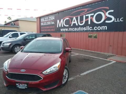 2015 Ford Focus for sale at MC Autos LLC in Pharr TX