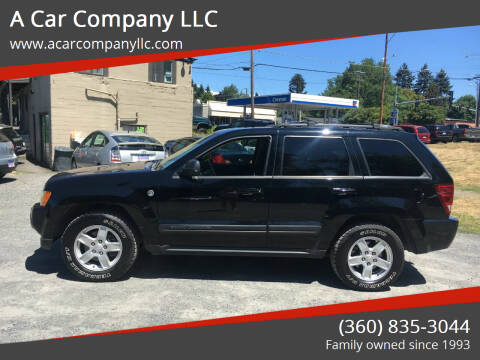 2006 Jeep Grand Cherokee for sale at A Car Company LLC in Washougal WA