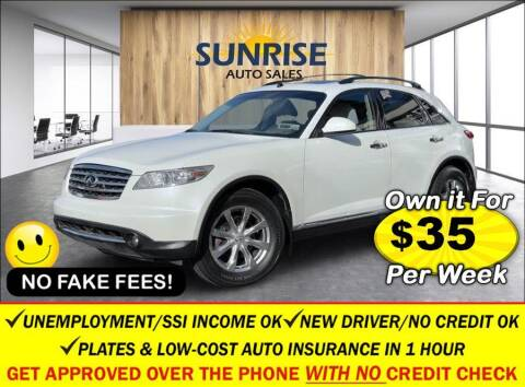 2008 Infiniti FX35 for sale at AUTOFYND in Elmont NY