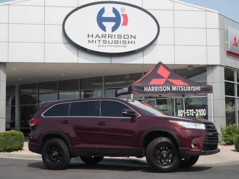 2019 Toyota Highlander for sale at Harrison Imports in Sandy UT