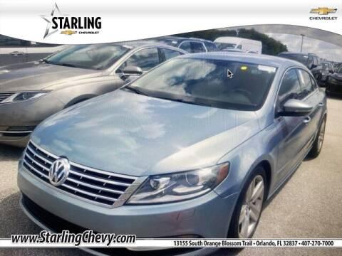 2013 Volkswagen CC for sale at Pedro @ Starling Chevrolet in Orlando FL