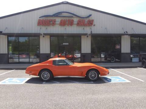 1976 Chevrolet Corvette for sale at DOUG'S AUTO SALES INC in Pleasant View TN