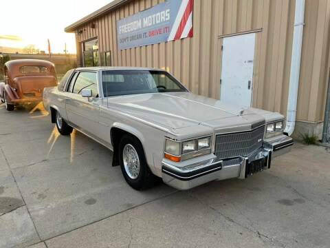 1984 Cadillac DeVille for sale at Freedom Motors in Lincoln NE