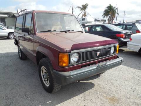 1986 Isuzu Trooper II for sale at DMC Motors of Florida in Orlando FL