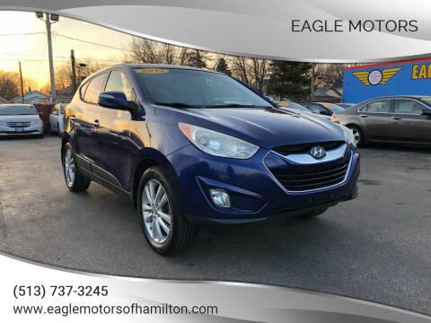 2013 Hyundai Tucson for sale at Eagle Motors in Hamilton OH