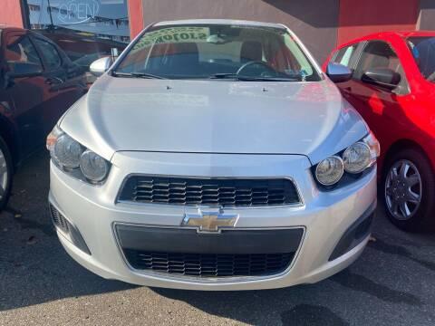 2015 Chevrolet Sonic for sale at John Warne Motors in Canonsburg PA