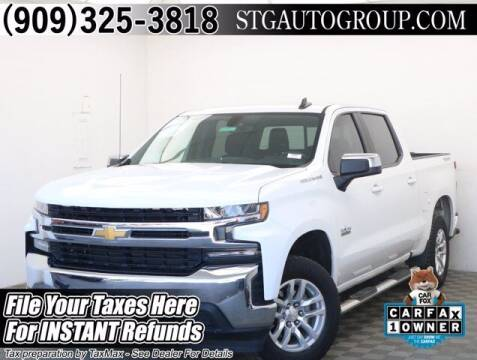 2019 Chevrolet Silverado 1500 for sale at STG Auto Group in Montclair CA