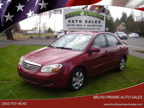 2008 Kia Spectra for sale at Brush Prairie Auto Sales in Battle Ground WA