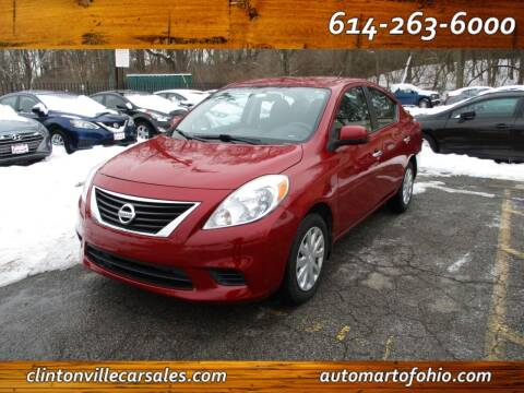 2013 Nissan Versa for sale at Clintonville Car Sales - AutoMart of Ohio in Columbus OH
