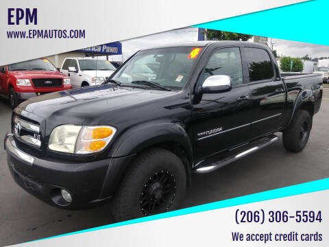 2004 Toyota Tundra for sale at EPM in Auburn WA