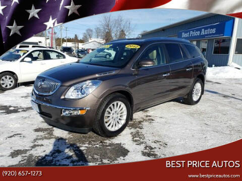 2012 Buick Enclave for sale at Best Price Autos in Two Rivers WI