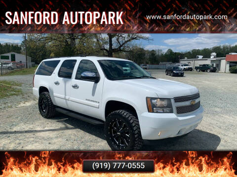 2008 Chevrolet Suburban for sale at Sanford Autopark in Sanford NC