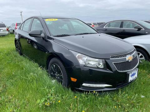 2013 Chevrolet Cruze for sale at Alan Browne Chevy in Genoa IL
