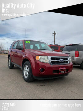 2009 Ford Escape for sale at Quality Auto City Inc. in Laramie WY