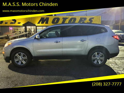 2016 Chevrolet Traverse for sale at M.A.S.S. Motors Chinden in Garden City ID
