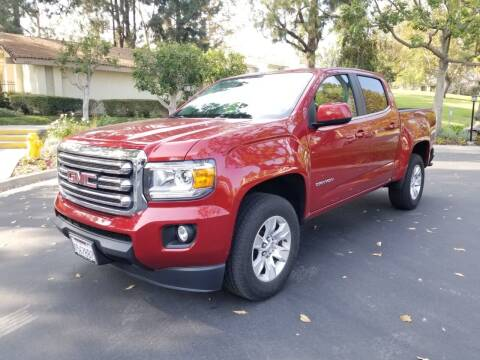 2016 GMC Canyon for sale at E MOTORCARS in Fullerton CA