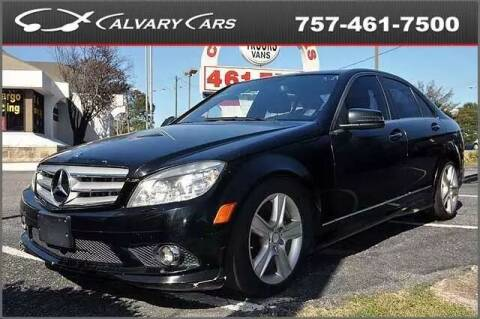 2010 Mercedes-Benz C-Class for sale at Calvary Cars & Service Inc. in Norfolk VA